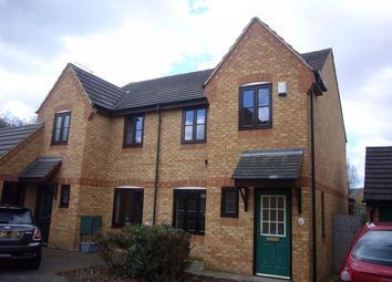 Thumbnail 3 bedroom semi-detached house to rent in Tynemouth Rise, Monkston, Milton Keynes