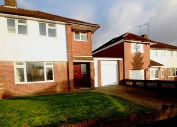 Thumbnail 3 bed semi-detached house to rent in Swasedale Road, Luton