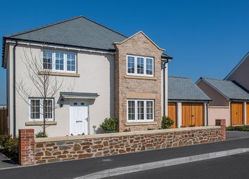 "Thumbnail 4 bed detached house for sale in ""The Canterbury"" at Parade Avenue, Fremington, Barnstaple"