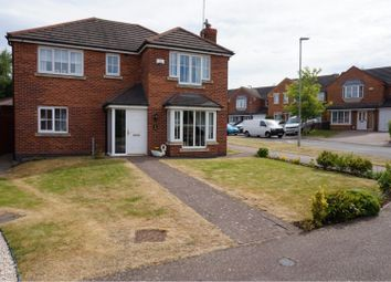 Thumbnail 4 bed detached house for sale in Field View, Whitwick