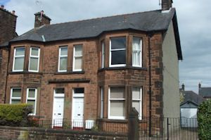 Thumbnail 3 bedroom semi-detached house for sale in Ardwall Road, Dumfries