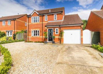 Thumbnail 3 bed detached house for sale in Wren Close, Necton, Swaffham