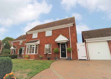 Thumbnail 4 bed detached house for sale in Chinnor Close, Bedford