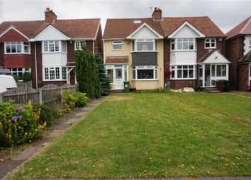 Thumbnail 3 bedroom semi-detached house for sale in Elmdon Lane, Marston Green, Birmingham