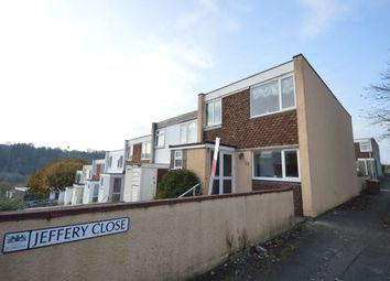 Thumbnail 3 bed terraced house for sale in Jeffery Close, Plymouth