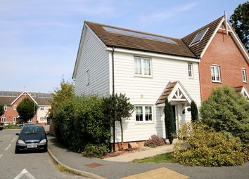 3 bed end terrace house for sale in Fleming Road, Little Canfield, Dunmow CM6