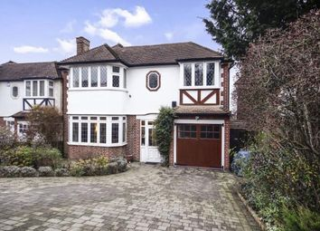 Thumbnail 4 bedroom detached house for sale in Croft Road, Sutton, Surrey, Greater London