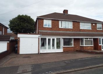 Thumbnail 3 bed semi-detached house for sale in Elmtree Road, Streetly, Sutton Coldfield, West Midlands