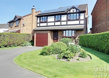 Thumbnail 4 bed detached house for sale in The Fairways, Chesterfield, Derbyshire
