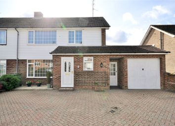 Thumbnail 3 bed semi-detached house for sale in Horsham, West Sussex