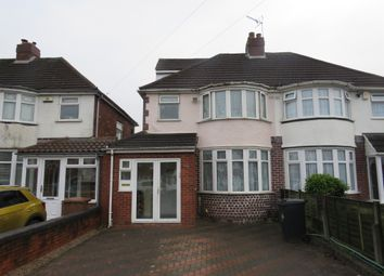 Thumbnail 4 bed semi-detached house for sale in Lyndon Road, Solihull