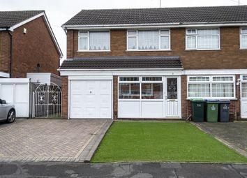 Thumbnail 3 bed end terrace house for sale in Hamilton Drive, Tividale, Oldbury
