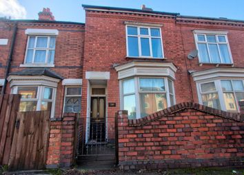 Thumbnail 5 bed terraced house to rent in Welford Road, Leicester