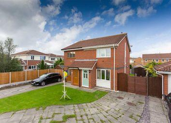 Thumbnail 2 bed semi-detached house for sale in Aspendale Close, Longton, Preston