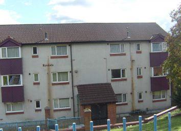 Thumbnail 2 bed flat to rent in Hyrstlands Road, Batley