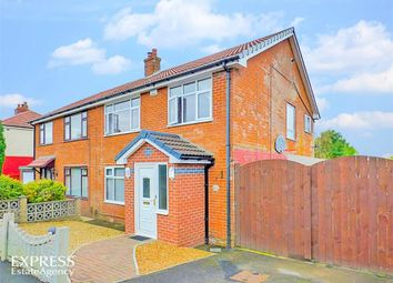Thumbnail 3 bedroom semi-detached house for sale in Shaftesbury Avenue, Lostock, Bolton, Lancashire