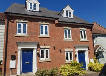 Thumbnail 3 bed terraced house for sale in Chalk Close, Thetford