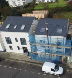 Thumbnail 4 bed detached house for sale in Abererch Road, Pwllheli, Gwynedd