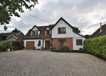 Thumbnail 4 bed detached house for sale in Basingstoke Road, Three Mile Cross, Reading