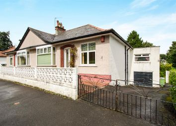 Thumbnail 3 bedroom semi-detached bungalow for sale in Merryburn Avenue, Giffnock, Glasgow