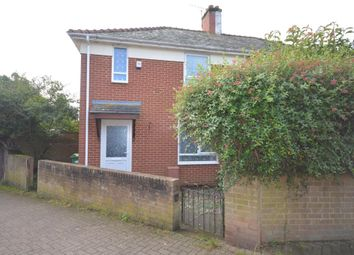 Thumbnail 2 bed semi-detached house to rent in Merrivale Road, Exeter, Devon