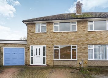 Thumbnail 3 bed semi-detached house for sale in Corbett Gardens, Woodley, Reading