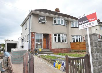 Thumbnail 3 bed semi-detached house for sale in Spring Hill, Worle, Weston-Super-Mare