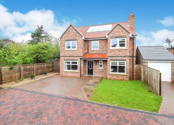 Thumbnail 5 bed detached house for sale in Williamsfield Road, Cranswick, Driffield