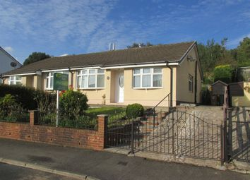 Thumbnail 2 bedroom semi-detached bungalow for sale in Pen Y Cwm, Abertysswg, Tredegar