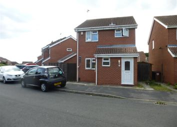 Thumbnail 3 bed detached house for sale in Queensmead Close, Groby, Leicester