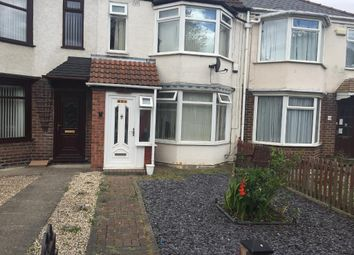 Thumbnail 3 bedroom terraced house to rent in Wold Road, Hull, East Riding Of Yorkshire