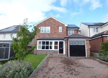 Thumbnail 4 bed detached house for sale in Lon Gwaenfynydd, Llandudno Junction, Conwy, North Wales