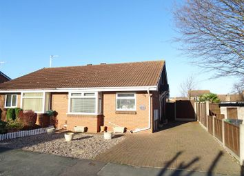 Thumbnail 2 bed semi-detached bungalow for sale in Arbury Dale, Shepshed, Leicestershire
