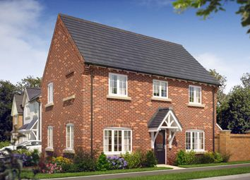 Thumbnail 3 bedroom detached house for sale in The Baslow At Oaklands Park, Wyaston Road, Ashbourne