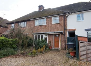 Thumbnail 3 bedroom terraced house for sale in Fountain Lane, Haslingfield, Cambridge