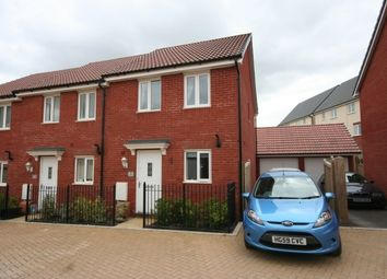 Thumbnail End terrace house to rent in Angelica Drive, Bridgwater
