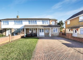 Thumbnail 4 bed semi-detached house for sale in Howth Drive, Woodley, Reading