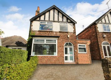 Thumbnail 3 bed detached house for sale in Hucknall Road, Sherwood, Nottingham