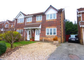 Thumbnail 3 bed semi-detached house for sale in Trem Y Castell, Caerphilly