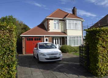 Thumbnail 3 bed detached house for sale in Links Avenue, Felixstowe