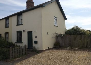 Thumbnail 2 bed semi-detached house to rent in Ipswich Road, Elmsett, Ipswich
