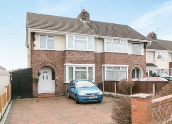 Thumbnail 3 bed semi-detached house for sale in Bridle Road, Eastham, Wirral