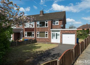 Thumbnail 3 bed semi-detached house for sale in Grasmere Crescent, High Lane, Stockport, Cheshire