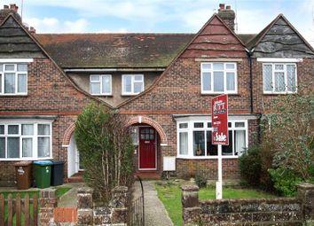 Thumbnail 3 bed terraced house for sale in Henry Avenue, Rustington, Littlehampton