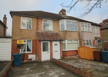 Thumbnail 3 bed flat to rent in Manor Road, Harrow-On-The-Hill, Harrow
