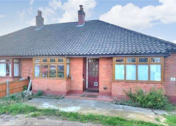 Thumbnail 3 bed semi-detached bungalow for sale in Larkman Lane, Norwich, Norfolk