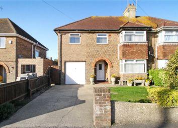 Thumbnail 5 bed semi-detached house for sale in Albert Road, Rustington, Littlehampton