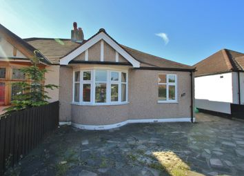 Thumbnail 2 bedroom semi-detached bungalow to rent in New North Road, Ilford
