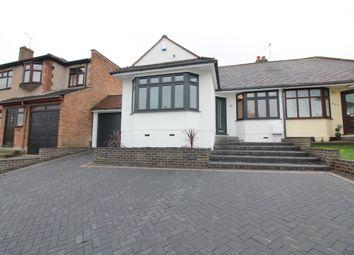 Thumbnail 2 bed semi-detached bungalow for sale in Pettits Lane North, Rise Park, Romford, Essex