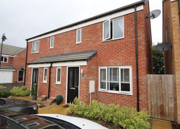 Thumbnail 3 bedroom semi-detached house for sale in Saxonbury Way, Hempsted, Peterborough